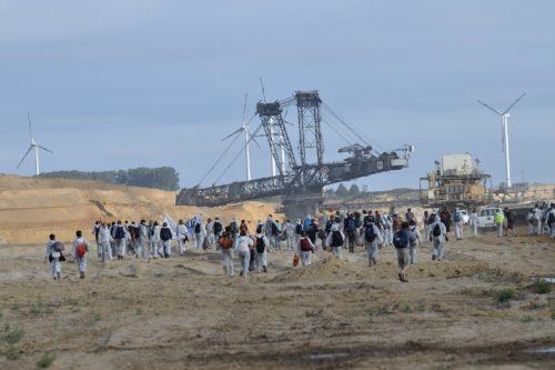 Proteste gegen fossile Energieinfrastruktur im Rheinland, 2015