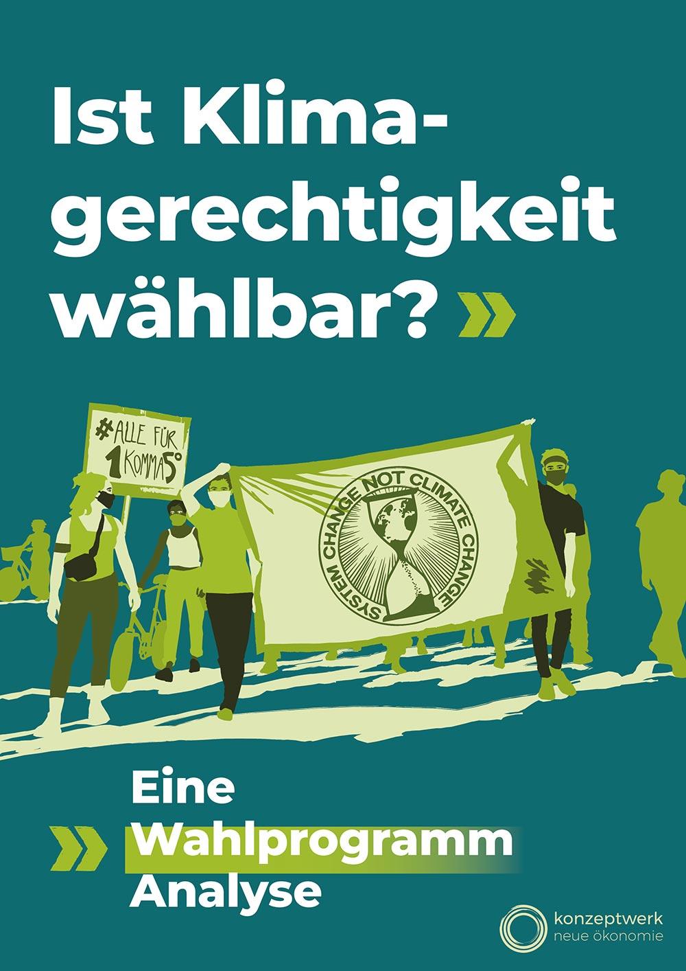Cover der Wahlprogrammanalyse
